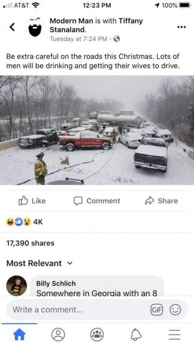 Women bad driver!
