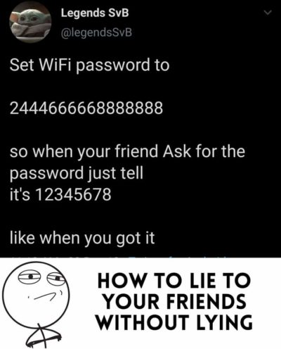 Passwords anyone?