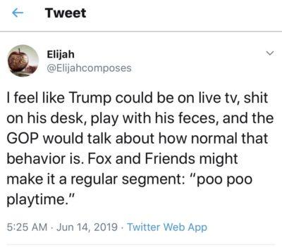 Poo poo playtime