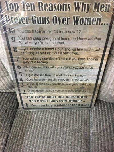 HAHA I HATE WOMEN HAHA MY WIFE SUCKS HAHA I AM UNHAPPY IN MY MARRIAGE LETS ALL LAUGH HAHA (GUNS GOOD)