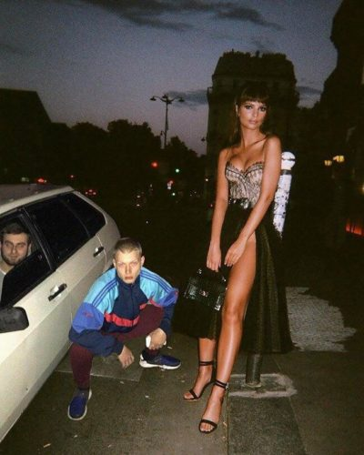 Eric and Don Trump Jr. meet their new step-mom, Melania (2004)
