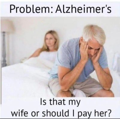 Is that my wife or should I pay her?