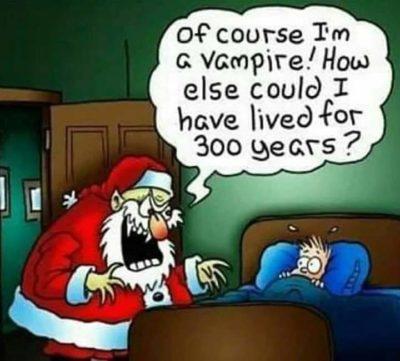 Santa = Vampire