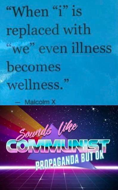 Communism is one hell of a drug