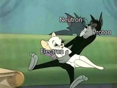 Neglected electron