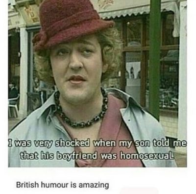 Ahahah, british