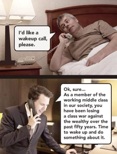 Here's your wakeup call