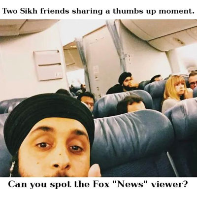 Haha the airport I work at is 90 Sikhs co worker showed me this.