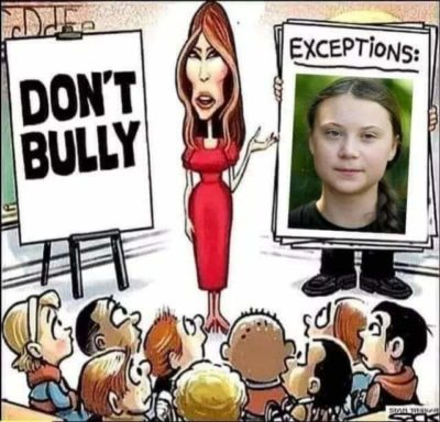 Only bully kids that threaten corporate profit structures.