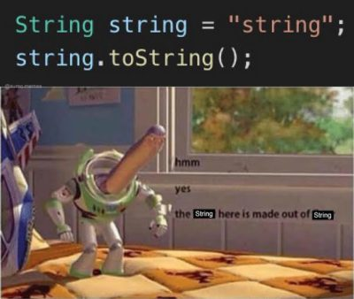 Ah yes string