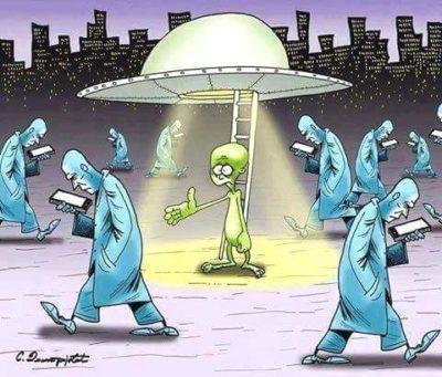 Sad aliens