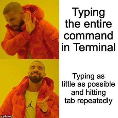 How do you type commands?