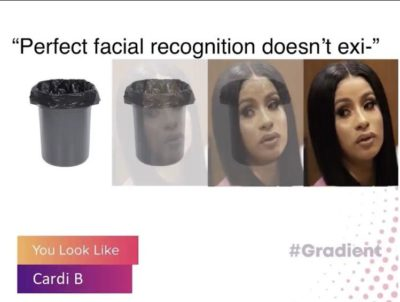 Perfect facial recognition doesnt exi- 🙄
