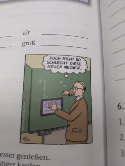 Image on my German book