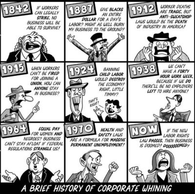 A History of Corporate Whining