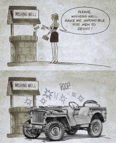 Wife bad car good