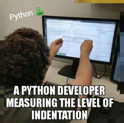 Indentation checking in Python is like: