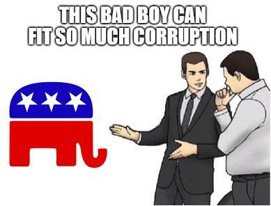 Slaps Trump