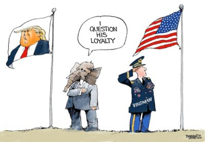 Whose loyalty