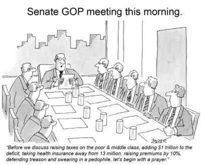 Senate GOP Meeting