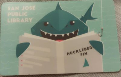 What is the shark's favorite book?