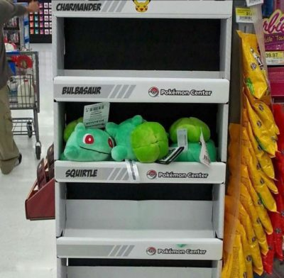 If this were Toy Story, Bulbasaur would cry
