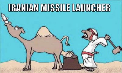 Iranian use camel bad.