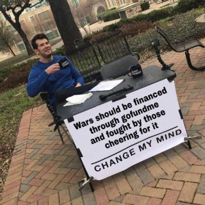Change my mind.