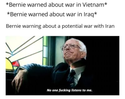 Bernie was right!