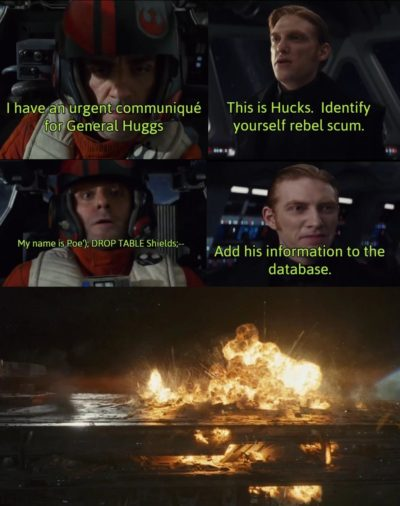 I hear this is the sub for sequel memes?
