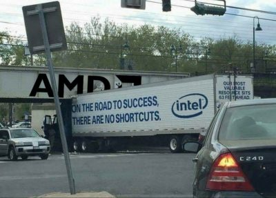 intel inside, disappointment outside