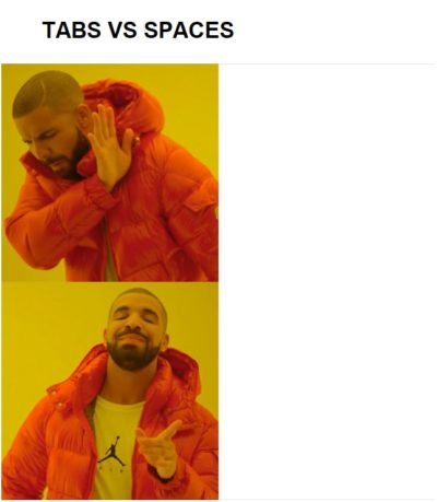 Tabs vs Spaces