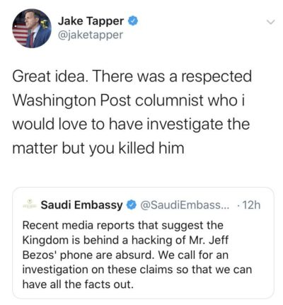 JAKE TAPPER FROM THE TOP ROPE