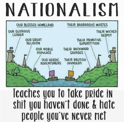 Nationalism is a useless distraction from class struggle