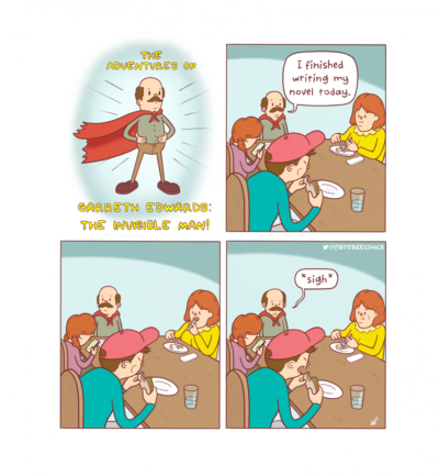 The Invisible Man [OC]