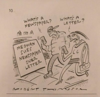 A bit of boomer humour in the private eye today