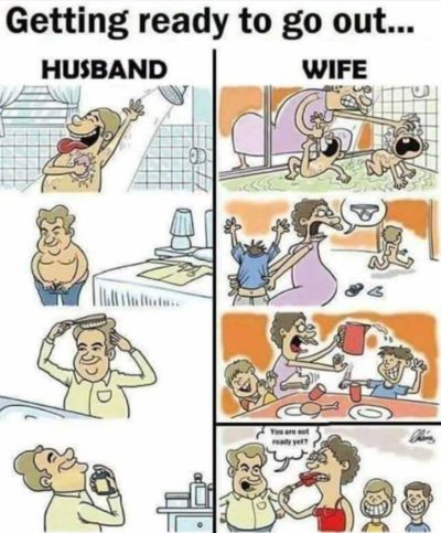 Husband bad