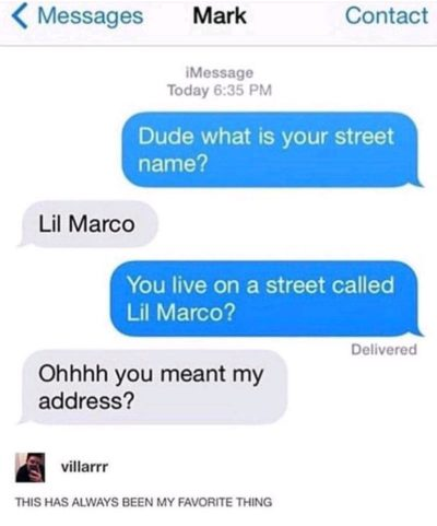 Whats your Street Name?