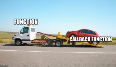 Javascript callbacks in a nutshell