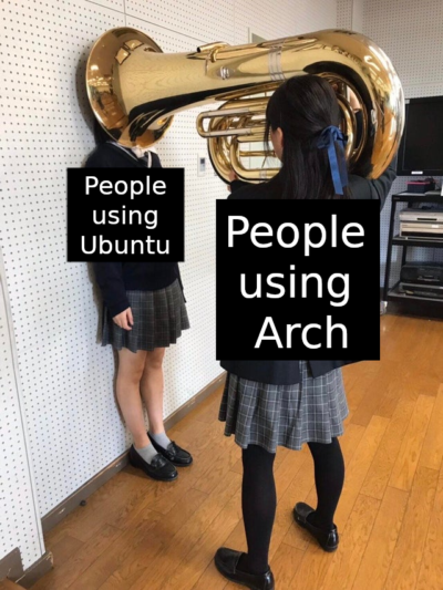 Btw I use AARCHHH