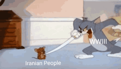 How i feel WWIII as a Iranian
