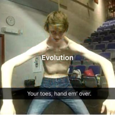 What evolution be like