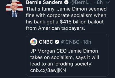Socialism bad!