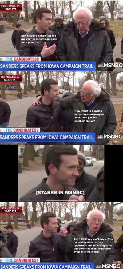 Snarky Bernie is the best Bernie.