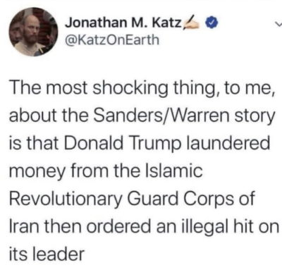 Reminder that in 2015 Trump knowingly did business with a front for the IRGC used to evade sanctions by laundering money into Iran.