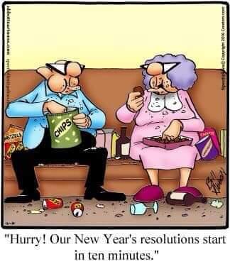 New year's hur hur