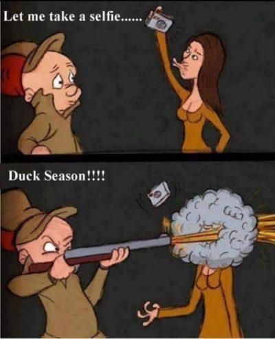 Haha duck face haha