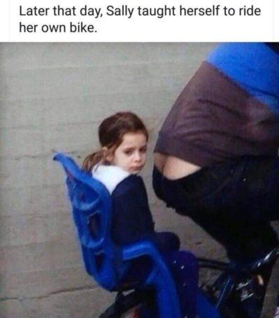 Poor girl.
