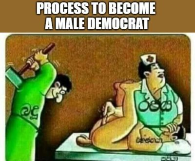 Male Democrat Bad – part 2