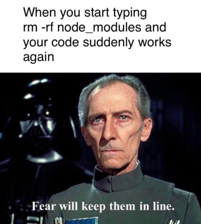 The threat of force is all you need sometimes